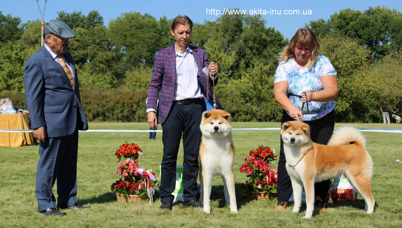 Ukrainian Club Breed Japanese Dogs - Judje Hiroshi Kamisato Japan